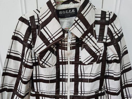 60s Checkered Short Jacket