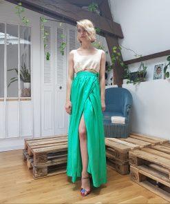 Mint Maxi Skirt