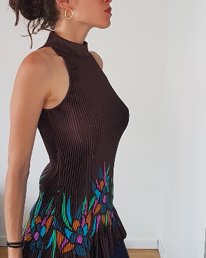 60s Pleated Top