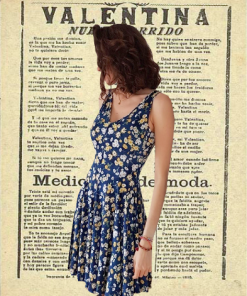 Floral Dress from Buenos Aires