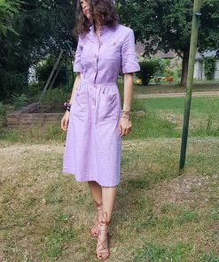 60s Celine Lilas Dress